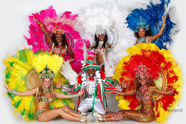 Бразильские танцы на юбилей в Москве бразильское шоу