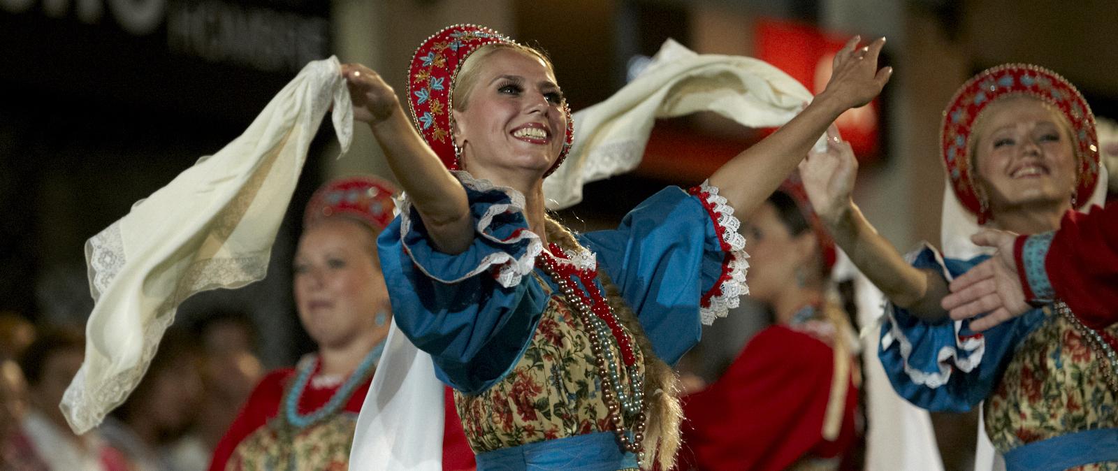 Русский ансамбль на праздник в Москве недорого