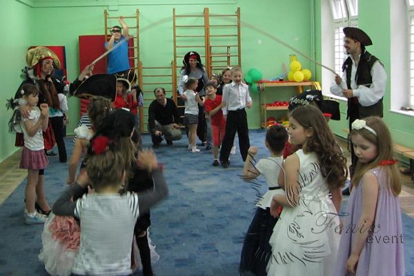 Детские аниматоры Пираты на выпускной в детском саду