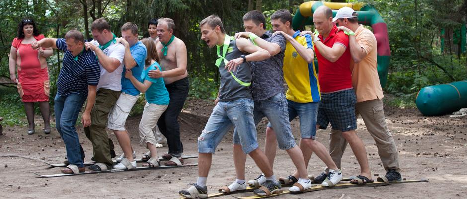 Выездной тимбилдинг на природе в Москве