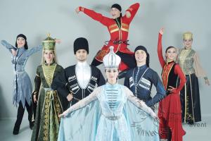 Кавказские ансамбли на праздник. Лезгинка на свадьбу в Москве