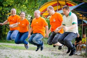 Спортивный тимбилдинг в Москве и Подмосковье