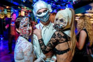 Фрики на Хэллоуин в Москве