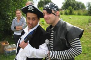 Пиратский тимбилдинг в Москве