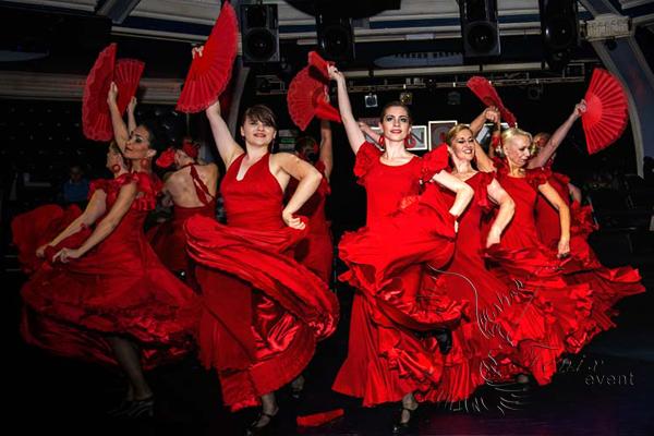 Испанские национальные танцы недорого на праздник в Москве