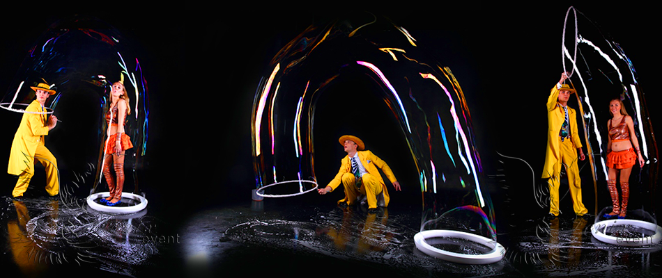 шоу мыльных пузырей на день рождения заказать в Москве