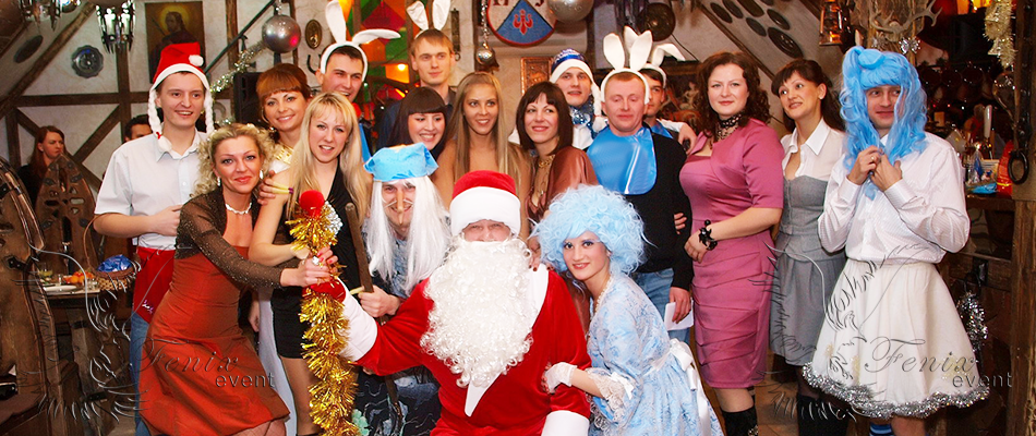 Дед Мороз на корпоратив недорого в Москве