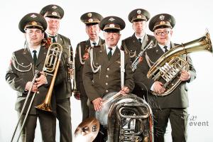 Военный духовой оркестр на день Победы 9 мая
