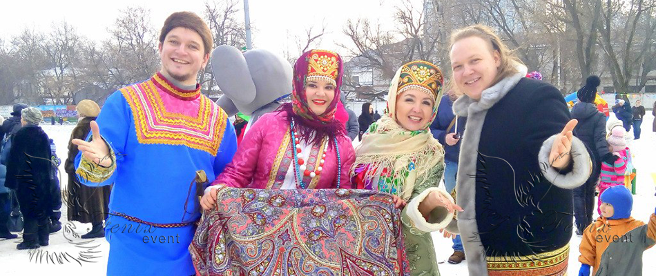 Заказать русский ансамбль на Новый год Москва