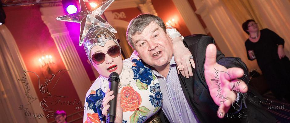 Пародист Сердючки на свадьбу праздник в Москве