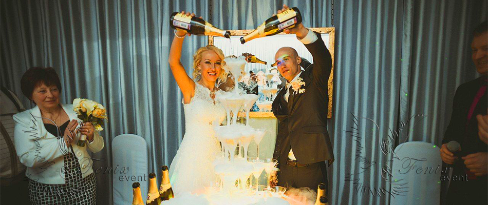 Заказать недорого бармен шоу на свадьбу в Москве