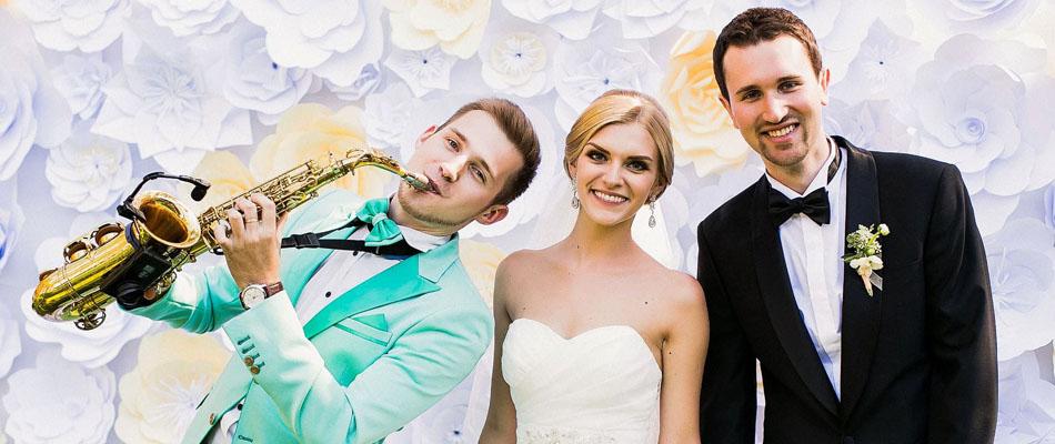 Саксофонист на свадьбу в Москве на встречу гостей - заказать саксофониста на праздник, юбилей и корпоратив