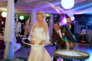 Мыльное шоу на Новый год в Москве