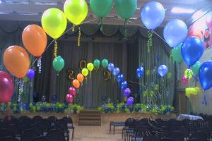 оформление выпускного вечера в школе недорого в Москве