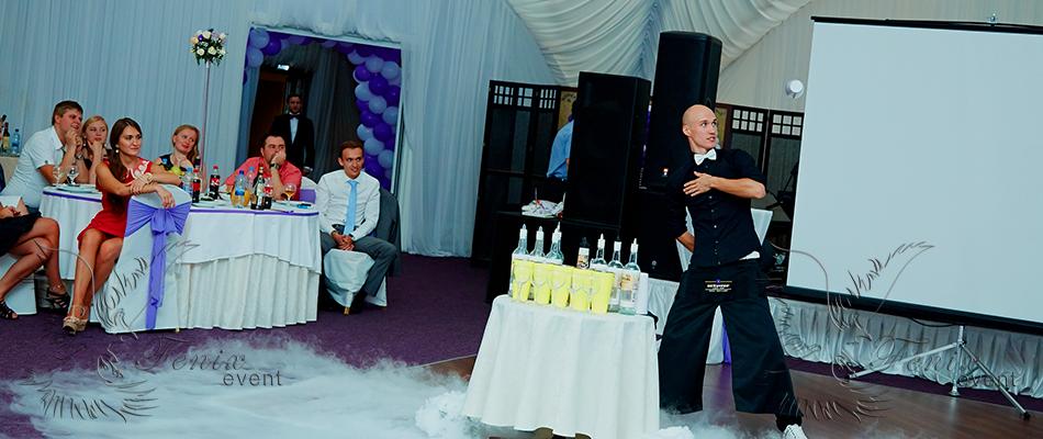 Лучшее бармен шоу на свадьбу