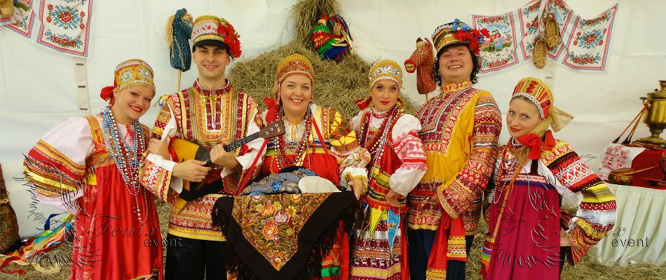 Заказать недорого на праздник русский ансамбль в Москве!