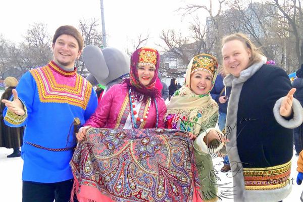 Заказать русский ансамбль в Москве на масленицу