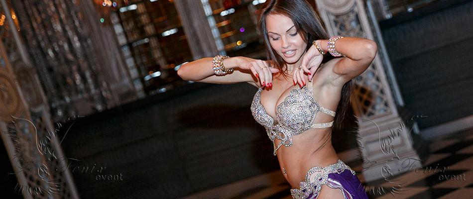 Заказать танец живота на юбилей