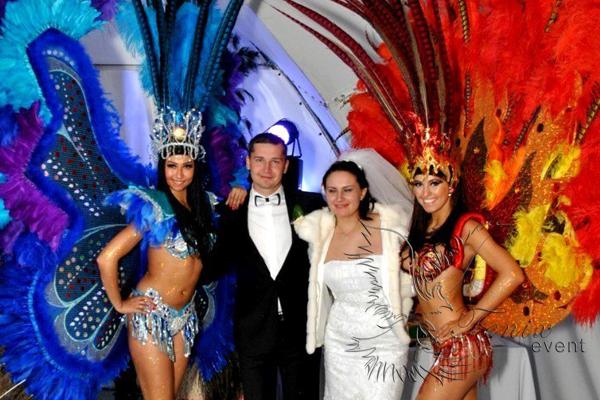 Бразильское шоу на свадьбу Москва