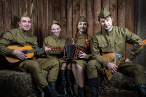 Русский народный ансамбль на день Победы 9 мая