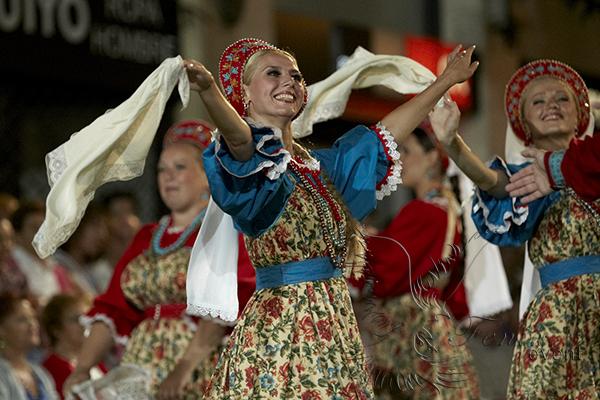 Русский народный ансамбль на праздник в Москве