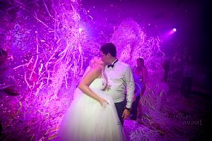 Заказать бумажное шоу на свадьбу в Москве недорого!