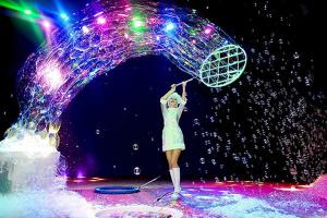 Шоу мыльных пузырей на праздник в Москве!