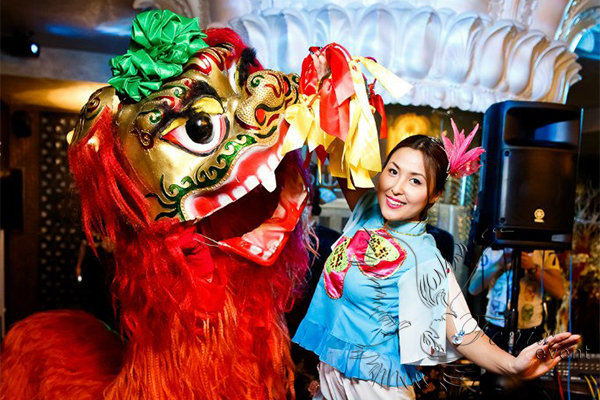 Заказать китайское шоу на свадьбу в Москве