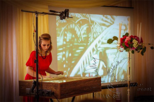 Песочное шоу на праздник в Москве