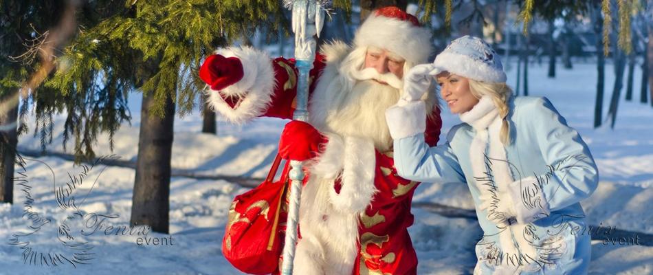 Дед Мороз и Снегурочка на дом недорого в Москве!