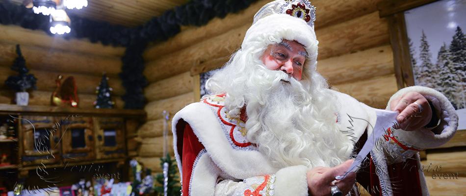 Заказать деда мороза в Москве на Новый год недорого в Москве