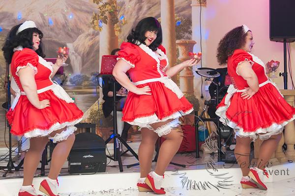 Шоу толстушек в Москве на свадьбу
