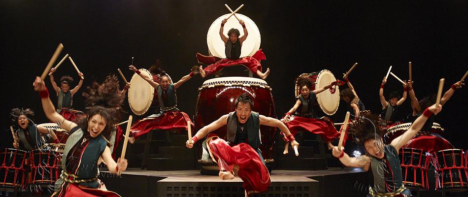 Китайские барабанщики в Москве на ктайский новый год
