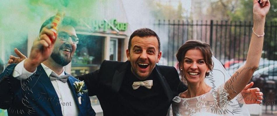 Заказать ведущего на свадьбу в Москве недорого