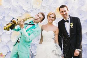 Саксофонист на свадьбу в Москве