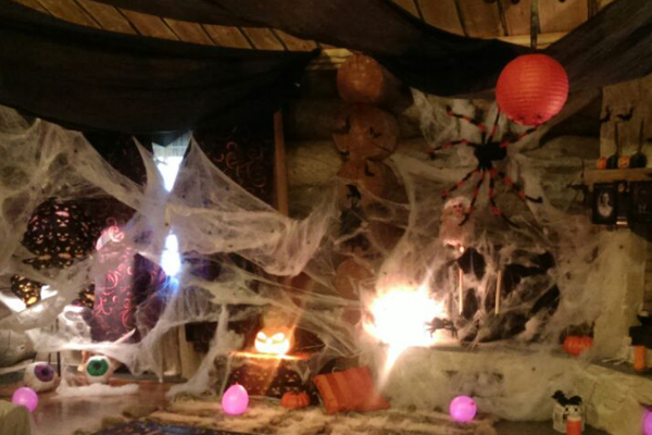 Тематическое оформление помещения на Хэллоуин Москва