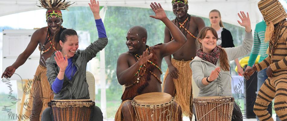 Заказать африканское шоу на праздник корпоратив Москва