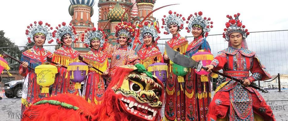 Заказать китайское шоу Москва