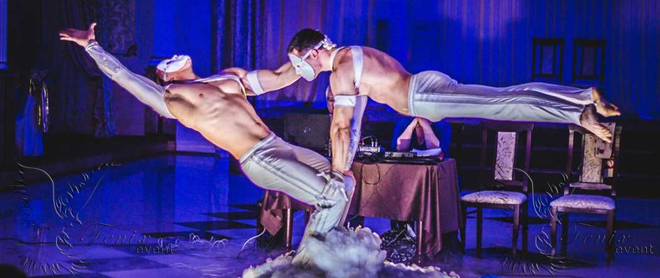 Акробатическое шоу на свадьбу в Москве