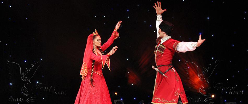 Заказать кавказские танцы на свадьбу юбилей Москва