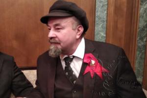 Двойник Ленина на новый год Москва