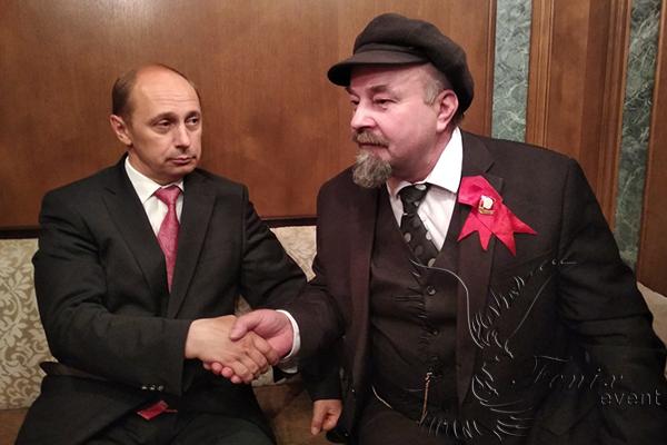Двойники политиков Москва заказать