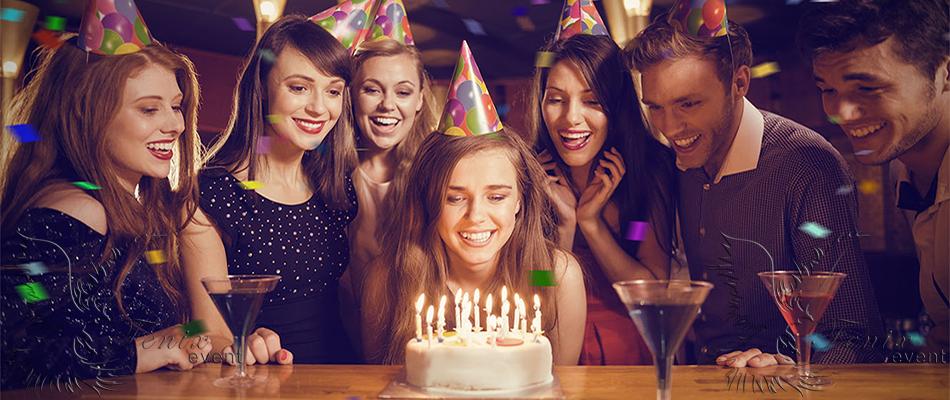 Организовать юбилей и день рождения недорого Москва