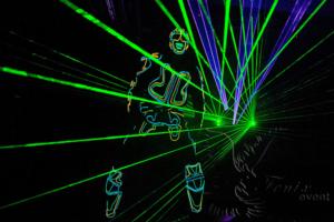 Заказать лазерное шоу на праздник Москва