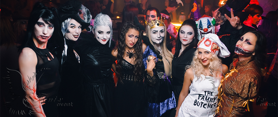 Лучшие артисты шоу на хэллоуин Москва