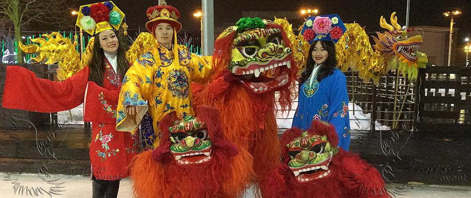 Артисты на китайский новый год в Москве!