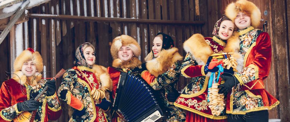Артисты на масленицу заказать Москва