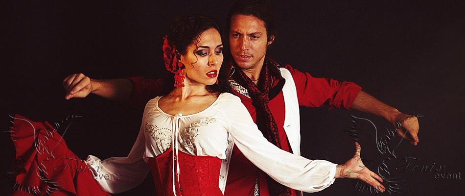 Заказать испанское фламенко шоу в Москве