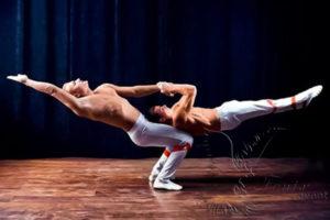 Акробатическое шоу на юбилей Москва