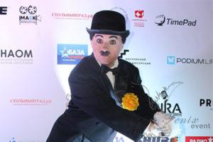 Двойник Чарли Чаплина на юбилей Москва
